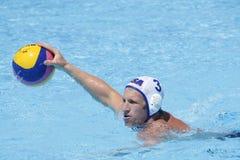 WPO: Campeonatos aquáticos do mundo - EUA contra Roménia Fotos de Stock
