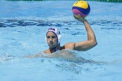 WPO: Campeonatos aquáticos do mundo - EUA contra Romênia Fotografia de Stock Royalty Free