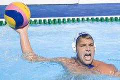 WPO: Campionato di Aquatics del mondo - U.S.A. contro la Germania Immagine Stock Libera da Diritti