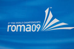 WPO: de 13de kampioenschappen Rome 09 van Wereldaquatics Royalty-vrije Stock Foto's