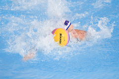 WPO :  Les Etats-Unis v Macédoine, 13èmes championnats Rome 09 d'Aquatics du monde Photographie stock libre de droits