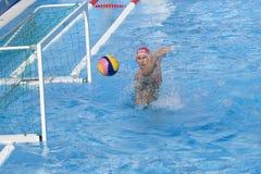 WPO :  Les Etats-Unis v Macédoine, 13èmes championnats Rome 09 d'Aquatics du monde Image stock