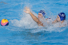 WPO:  Los E.E.U.U. v Macedonia, décimotercero campeonatos Roma 09 de los Aquatics del mundo Fotografía de archivo