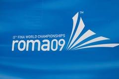 WPO : 13èmes championnats Rome 09 d'Aquatics du monde Photos libres de droits