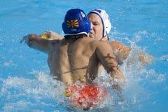 WPO:  USA v Macedonia, 13th Światowi Aquatics mistrzostwa Rzym 09 Zdjęcia Royalty Free