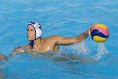 WPO:  USA v Macedonia, 13th Światowi Aquatics mistrzostwa Rzym 09 Zdjęcie Stock