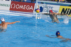WPO:  USA v Macedonia, 13th World Aquatics championships Rome 09 Stock Photography