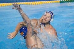 WPO:  USA v Macedonia, 13th World Aquatics championships Rome 09 Royalty Free Stock Photo