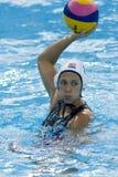 WPO: Wereld Aquatische Kampioenschappen - de V.S. versus Griekenland Stock Afbeelding