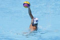 WPO: Wereld Aquatische Kampioenschappen - de V.S. versus Roemenië Royalty-vrije Stock Fotografie