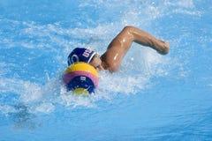 WPO: Światowy Aquatics mistrzostwo - usa vs Chorwacja Obrazy Royalty Free
