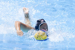 WPO: World  Aquatics Championship  China vs USA Stock Images