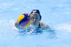 WPO: World  Aquatics Championship  China vs USA Royalty Free Stock Images