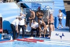 WPO: World Aquatics Championship - USA vs Germany Stock Photography
