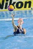 WPO: World Aquatics Championship - USA vs Greece semi final Royalty Free Stock Photography
