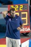 WPO: World Aquatics Championship - USA vs Greece semi final Royalty Free Stock Images