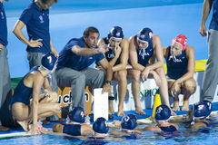 WPO: World Aquatics Championship - Womens final Canada vs USA Stock Photography