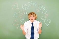 Wprawiać w zakłopotanie miłością Zdjęcia Stock