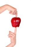 wprowadzenie jabłkowego Zdjęcie Royalty Free
