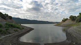 Wpust Kolorado góry rezerwuar zdjęcie stock