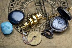 Wróżyć przyszłość przez astrologii Obraz Stock