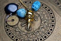 Wróżyć przyszłość przez astrologii Zdjęcia Stock