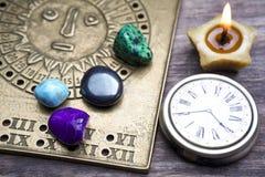 Wróżyć przyszłość przez astrologii Fotografia Royalty Free