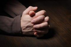 wręcza wizerunku modlenie obrazy stock