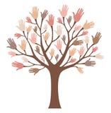 Wręcza drzewa Zdjęcie Stock