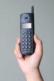 wręcza telefon Zdjęcie Stock