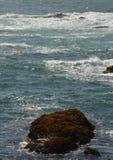 Wrażenia od fortu Bragg szkła plaży od Kwietnia 28, 2017, Kalifornia usa obraz royalty free