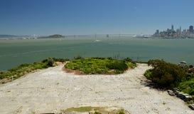 Wrażenia od wyspy Alcatraz w zatoce San Fransisco, Kalifornia usa Obraz Stock