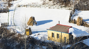 Wrażenie zima Zdjęcie Royalty Free