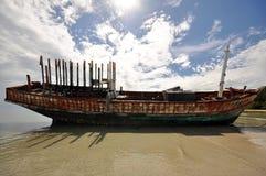 Wrack ship Royalty Free Stock Image