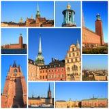 Wrażenia Sztokholm Zdjęcia Royalty Free