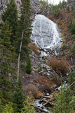 Wraith Falls in Yellowstone. Closeup view of Wraith Falls in Yellowstone National Park, USA Royalty Free Stock Image