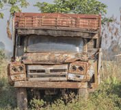 Wrak ciężarówka Obrazy Royalty Free