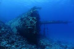 Wrak Ghiannis d w Czerwonym morzu, Egipt Obraz Stock