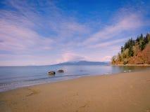 Wrak pla?a w Vancouver obrazy stock
