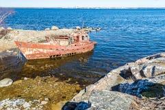 wrak statku Fotografia Stock
