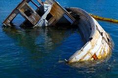 wrak statku Zdjęcie Royalty Free
