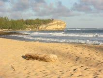 wrak statku na plaży Zdjęcia Royalty Free