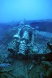 wrak statku wwii zdjęcie royalty free