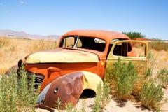 Wrak van auto royalty-vrije stock foto
