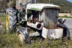 Wrak van een oude tractor Royalty-vrije Stock Foto's