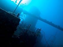 Wrak van Rode Overzees stock fotografie