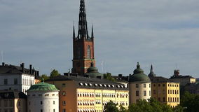 Wrangel Palace in Stockholm. Sweden. stock footage