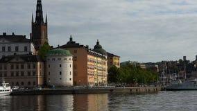 Wrangel slott i Stockholm sweden stock video