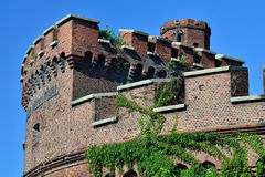 Wrangel Tower - fort of Koenigsberg. Kaliningrad, Russia Royalty Free Stock Photos