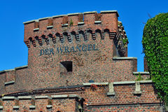 Wrangel Tower - fortress of Koenigsberg. Kaliningrad, Russia Stock Images